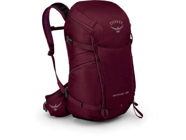 Osprey Skimmer 28 Backpack Dam plum red